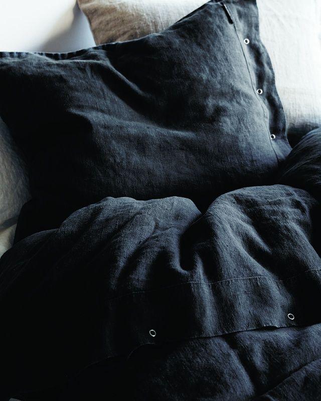 8757c1ba74 Lovely Linen Påslakan Dark Grey - Kardelen - Dennys Home | World of ...