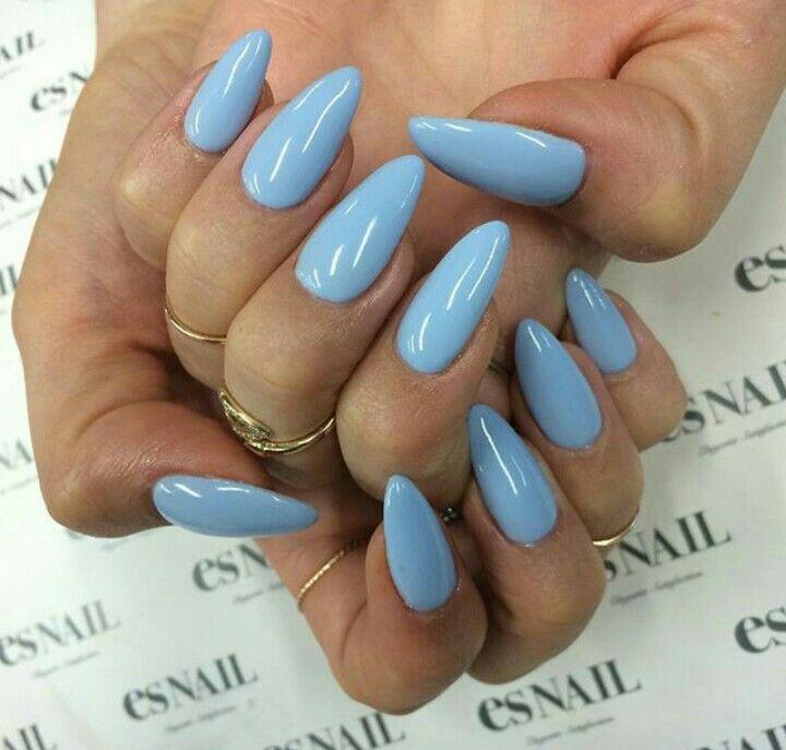 Baby Blue Stiletto Nails Ghetto Nails Blue Stiletto Nails Nails