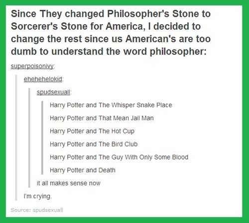 The Harry Potter fandom part 8 | Harry potter titles ...