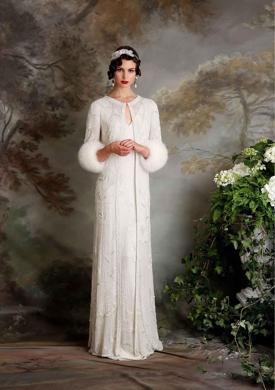 zapatos exclusivos mejores ofertas en aliexpress Flechazo #innovias: abrigos de novia estilo años 20 ...