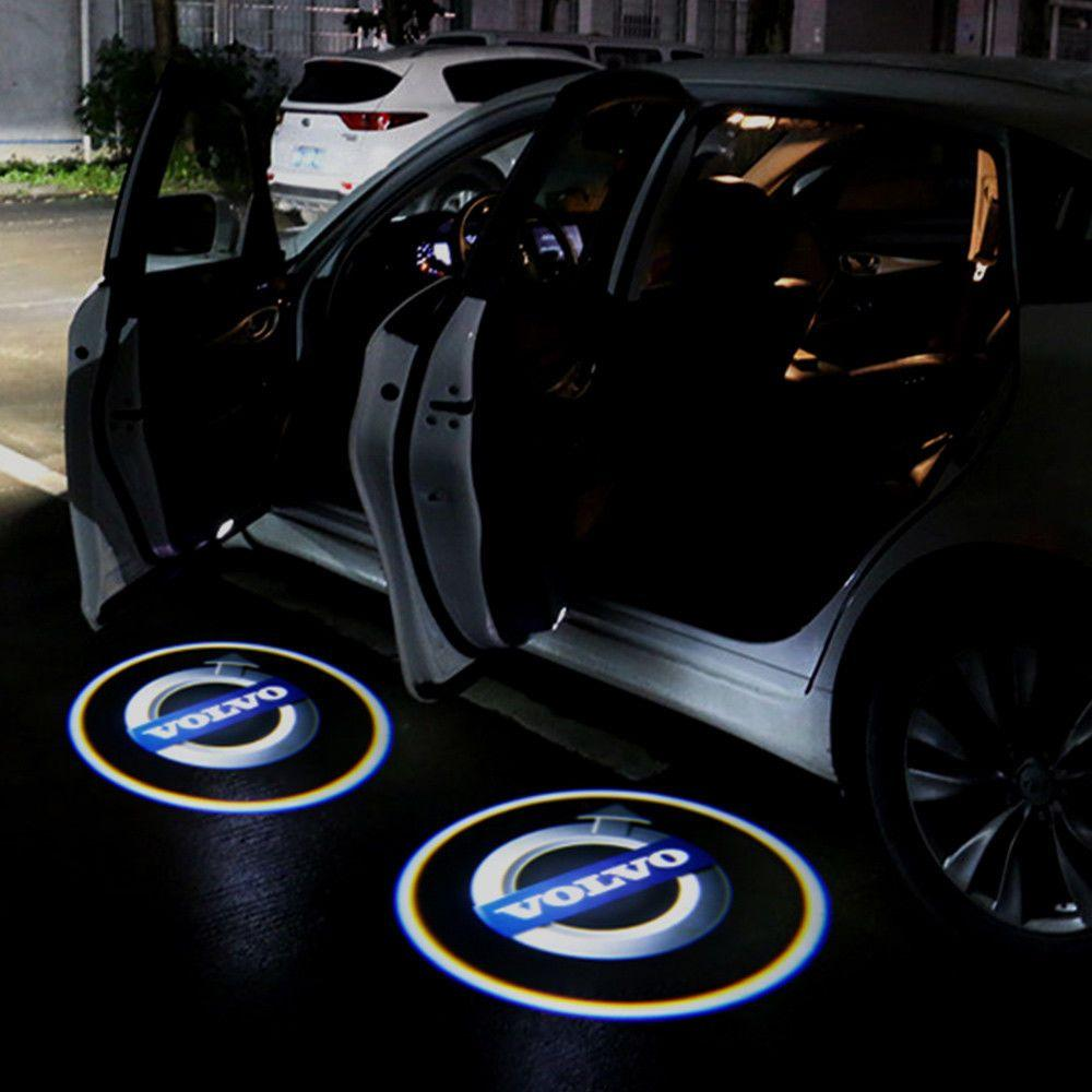 Car Fitg Wireless Led Car Door Projector Puddle Logo Light Car Glowing Lighting Logo Truck Rims And Tires Modified Cars