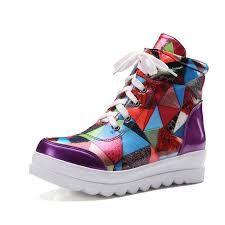 Resultado de imagen de colourful shoes