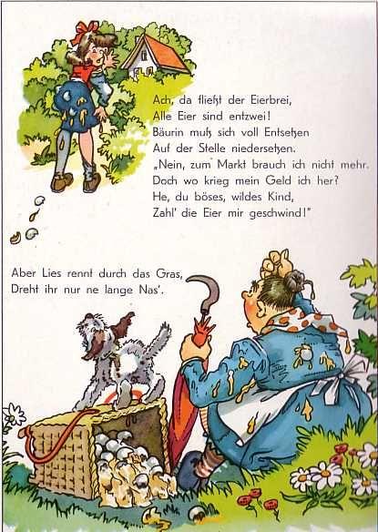 Bilderbuch 50er Struwwelliese | Ddr