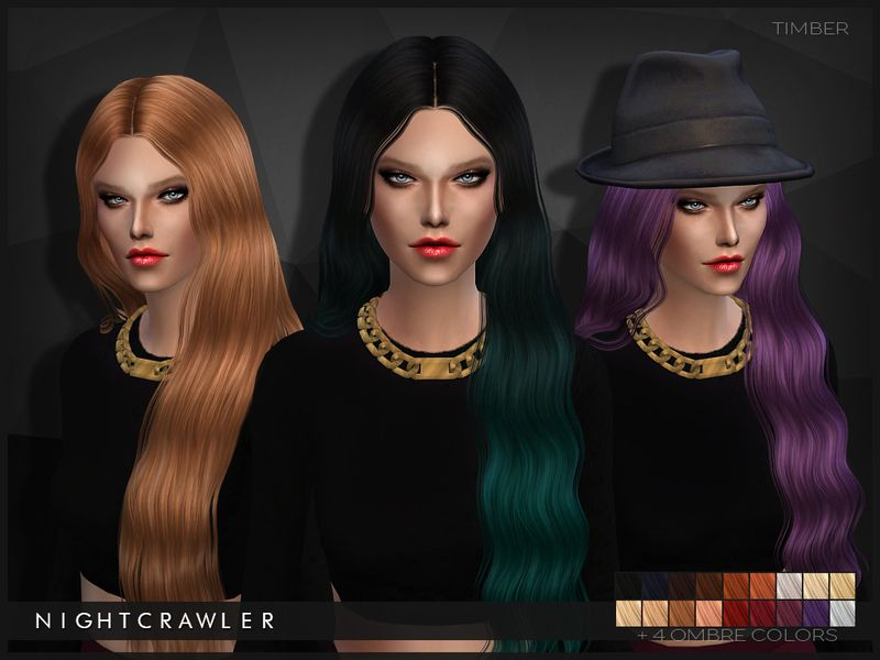 NEW MESH Found in TSR Category 'Sims 4 Female Hairstyles' | Sims 4