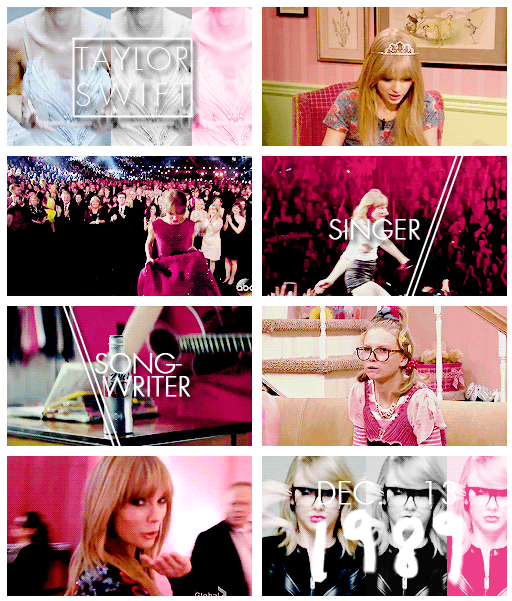 Taylor Swift - Singer - Songwriter - Dec. 13 1989 (gifset: http://soundsofineedyou.tumblr.com/post/95481869112)