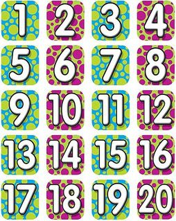 picture relating to Numbers 1 20 Printable named hefty printable figures 1-20 printable amount chart 1 20