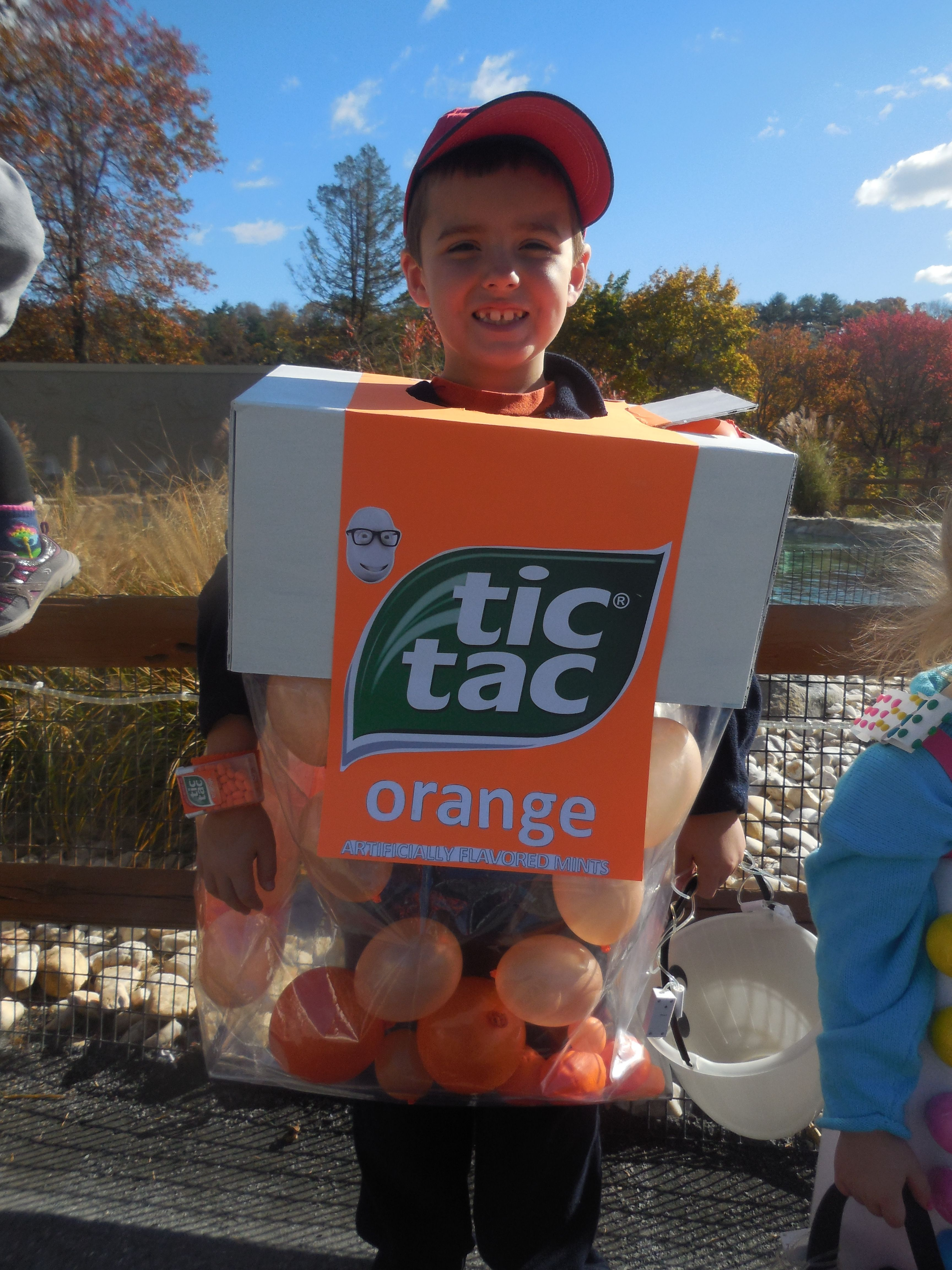 Enormous Tic Tac Container Costume | Halloween costume contest ...