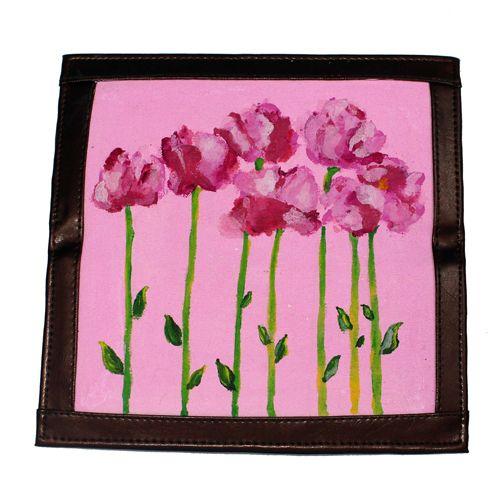 Dompet Lukis Flower Edition 2 - http://www.slightshop.com/produk/dompet-lukis-flower-edition-2/