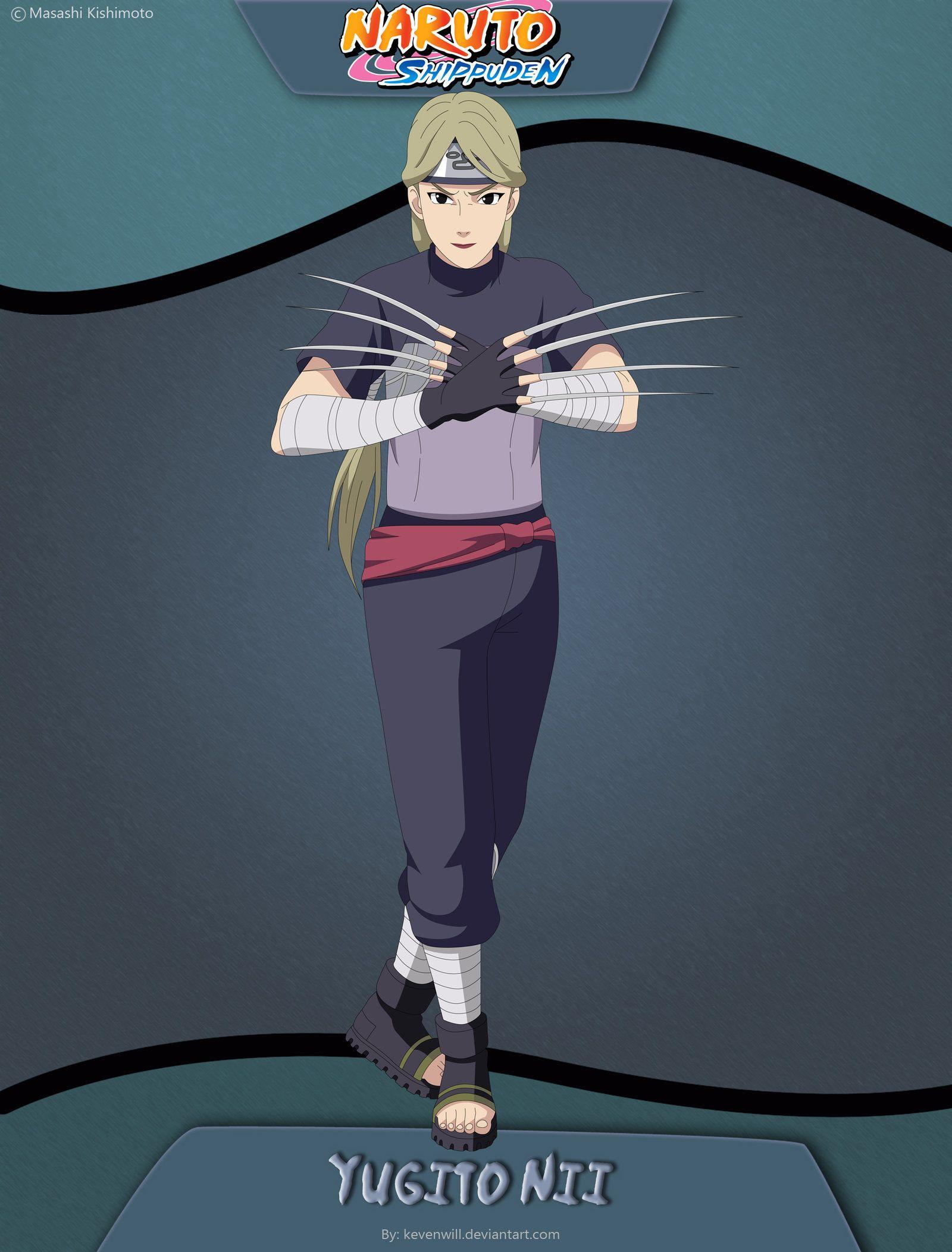 Yugito Nii by kevenwill | Jinchūriki | Pinterest | Naruto ...