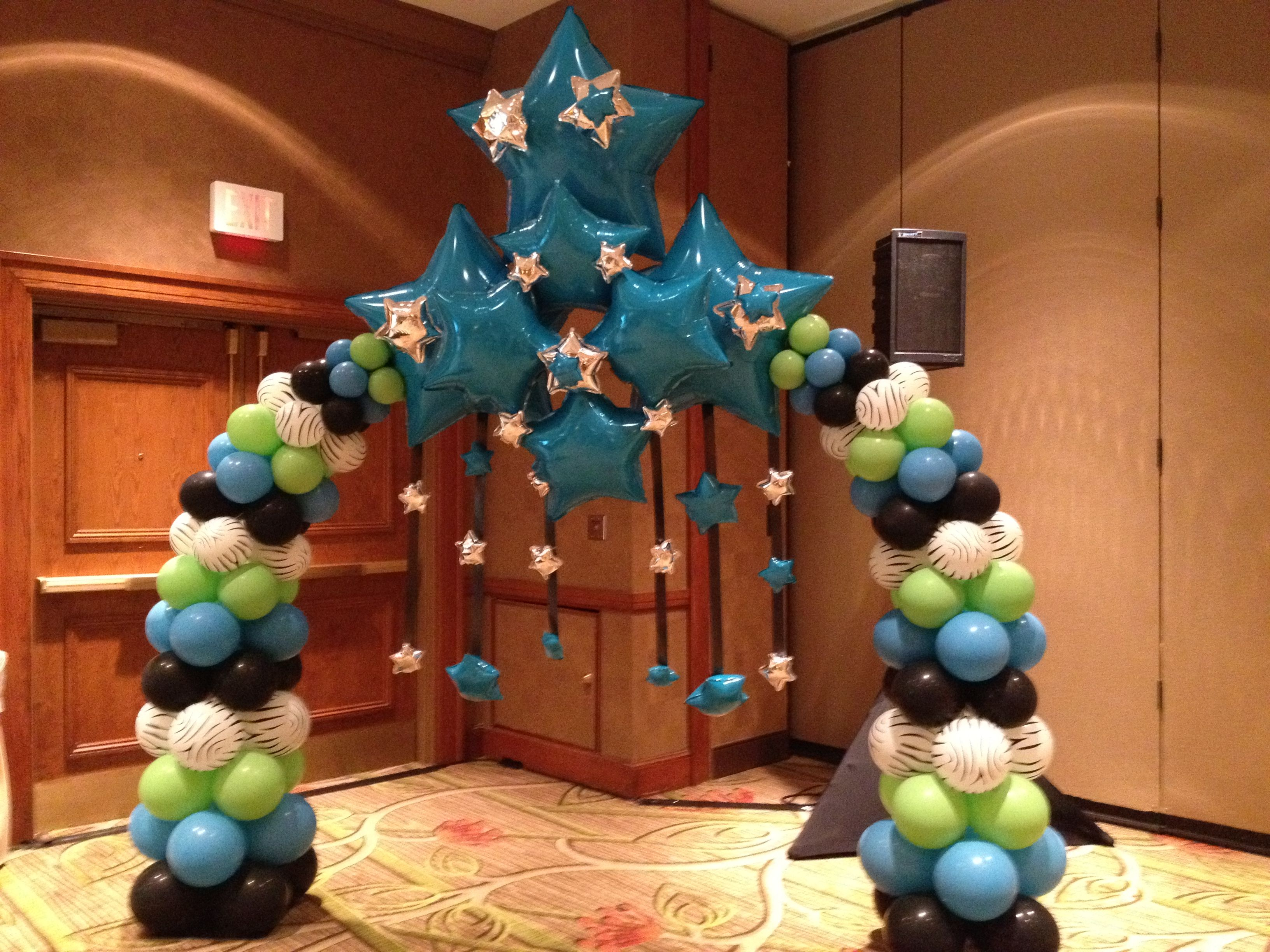Arches Balloon Decor Decoration Delivery Balloons Houston Centerpieces Decorations Birthday Party