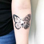 Butterfly Tattoo Ideas to Represent Transformati …- Schmetterlings-Tat