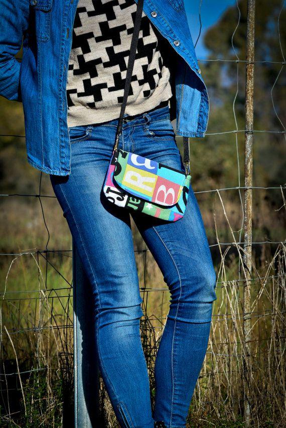 Borsa piccola/ borsa colorata/ borsa con di VanessaVanHandmade