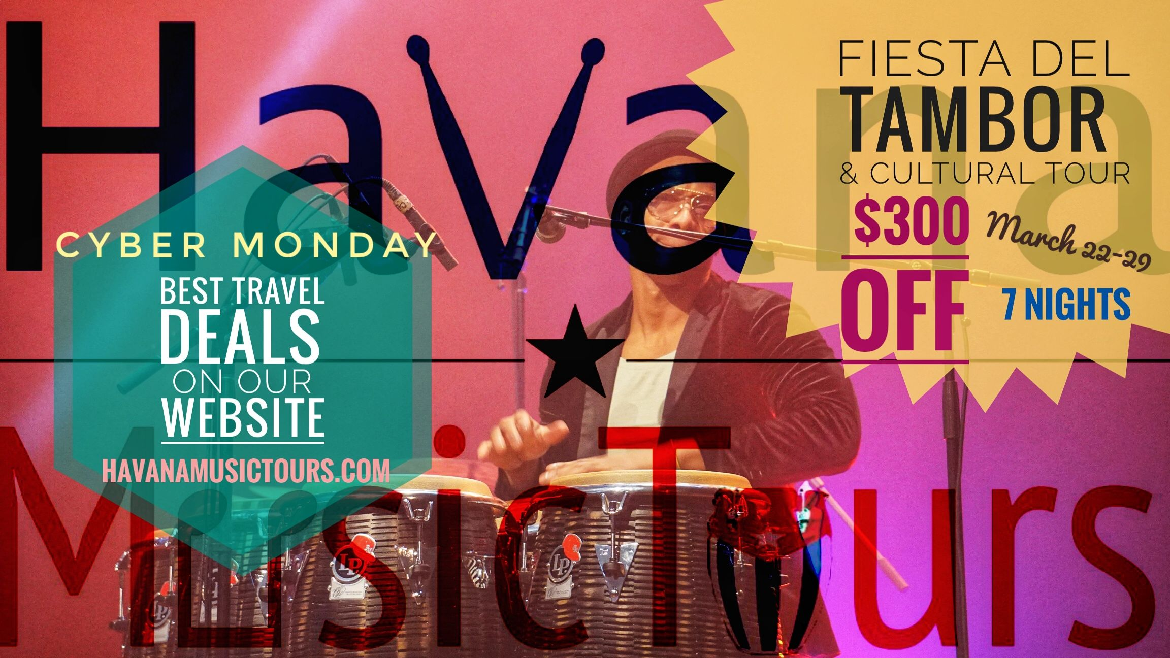 Cuba is a country full of music, check out our new cuba music tours offers! . . 👉musicalgetaways.com / havanamusictours.com   . #musicacubana🇨🇺 #musictours #blackfriday #cybermonday #greatdeals #traveldealsonline #travelscuba #goodtravels  #goodoffersonline #musictravels #holidaysoptions #holidaytraveldeals #holidayspecial #holidayoffers #christmas #traveldeals #viajesbaratos #musicfestival #cubatravel