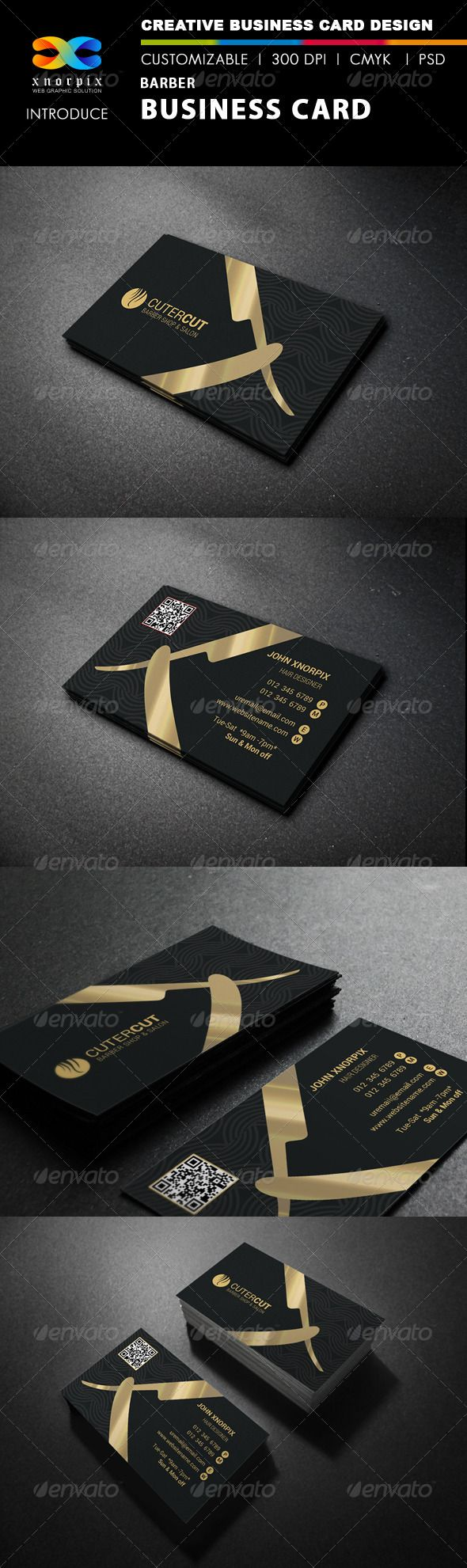 Barber business card business cards creative and corporate barber business card wajeb Image collections