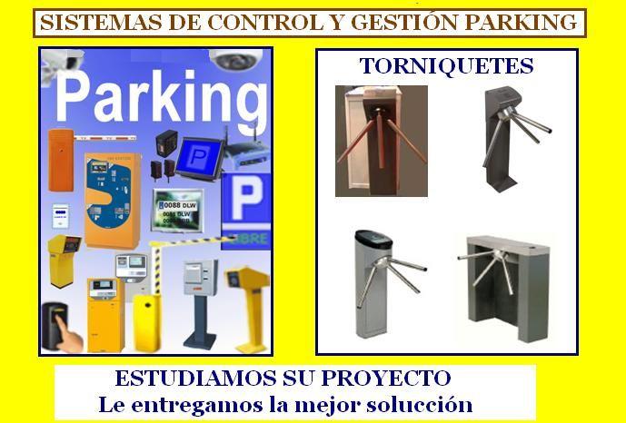 SISTEMAS DE CONTROL PARKING en MADRID