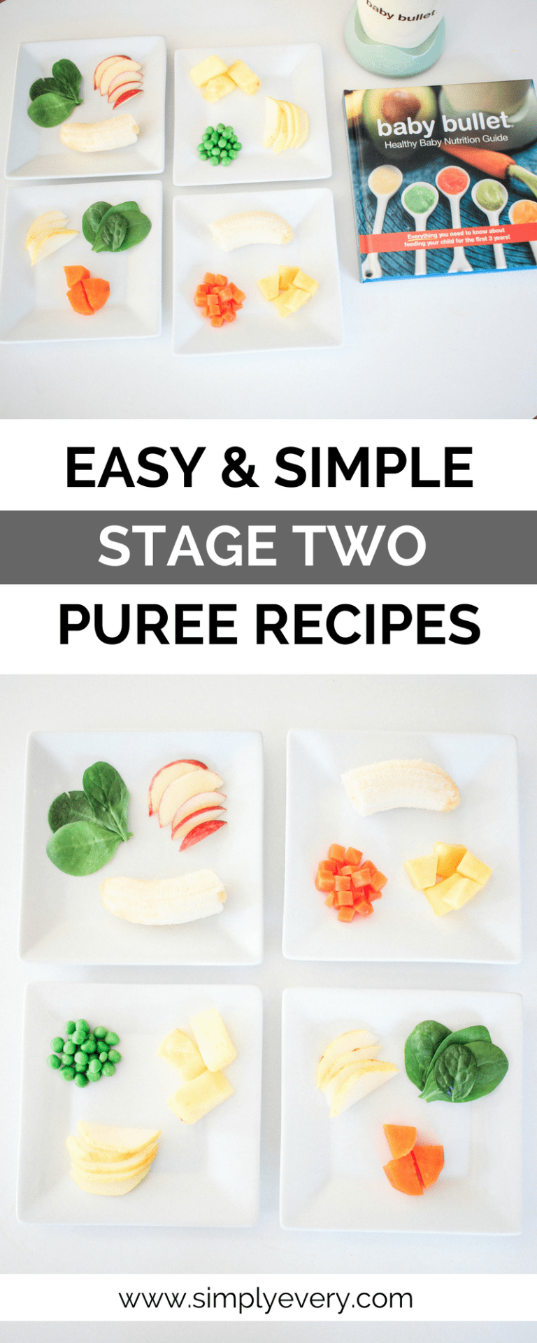 Easy & Simple Stage Two Puree Recipes | Baby food recipes ...