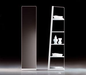 Espejo/estantería de la colección Structure de Arik Levy para Inbani