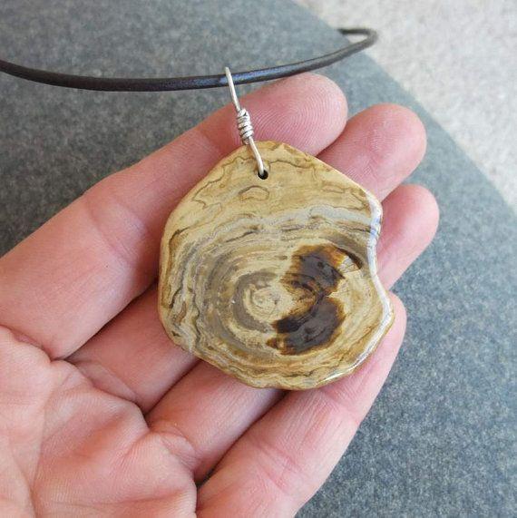 Petrified wood pendant necklace unique earthy jewelry handmade in petrified wood pendant necklace unique earthy jewelry handmade in australia natural history aloadofball Images