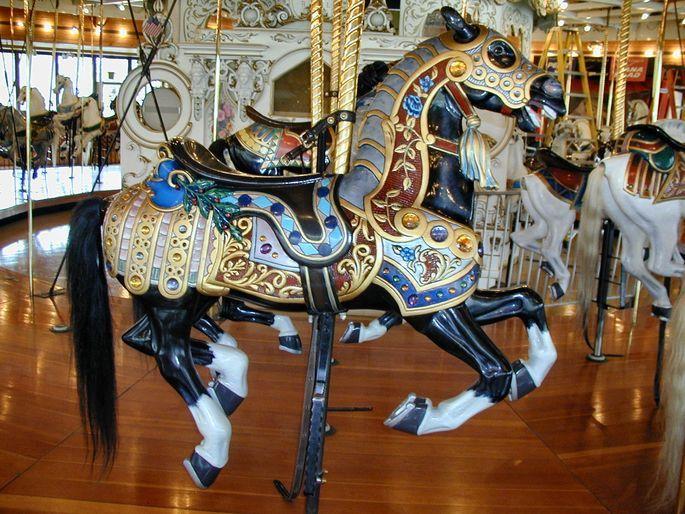 Prince at Spokane Looff Carousel