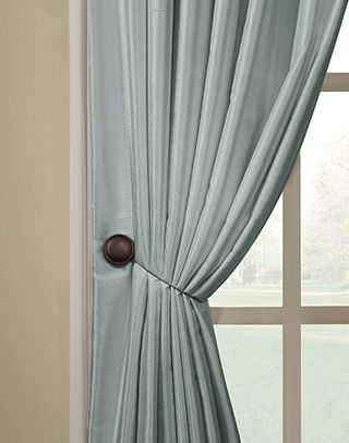 Magnetic Tieback Pair Curtainworks Com Could Use This For The