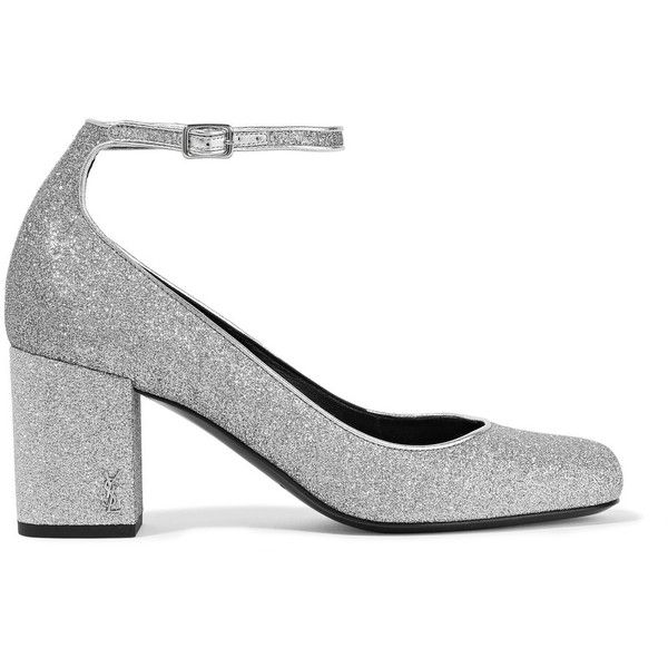 33e50d758 discount code for yves saint laurent sparkly shoes white 9e103 34aaf; promo  code for saint laurent babies glittered leather pumps 37.195 rub liked on  ...