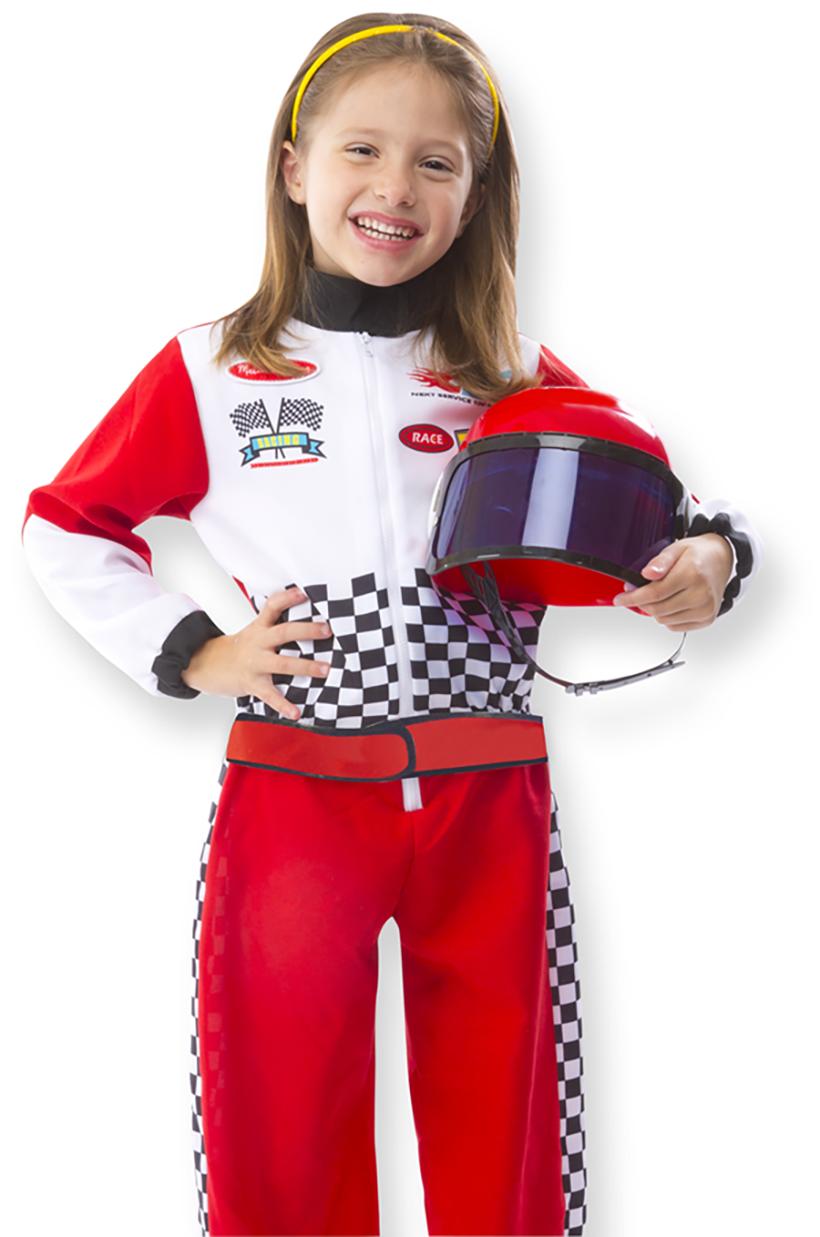 Exploring Kids Career Day Through Play Melissa Doug Blog Race Car Driver Halloween Costume Role Play Costume Race Car Costume