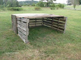 Build Your Own Sheep Shelter For Free Goat Feeder Pinterest