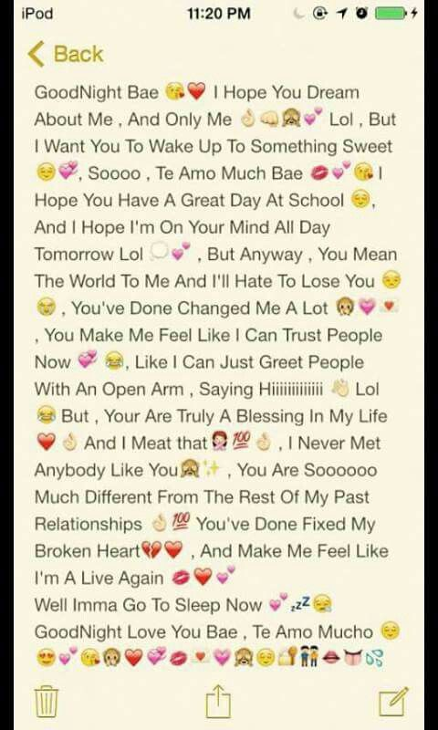 Awwww I Want Something Like This This Is How A Boy Try To Find Out A Girl S Feeling About H Cute Texts For Him Relationship Paragraphs Love Text To Boyfriend