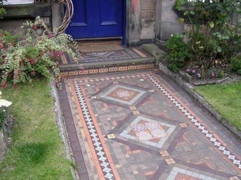 Superb Victorian Decorative Tile Flooring U2013 Encaustic Tiles U2013 Part 3 | Old House  Living