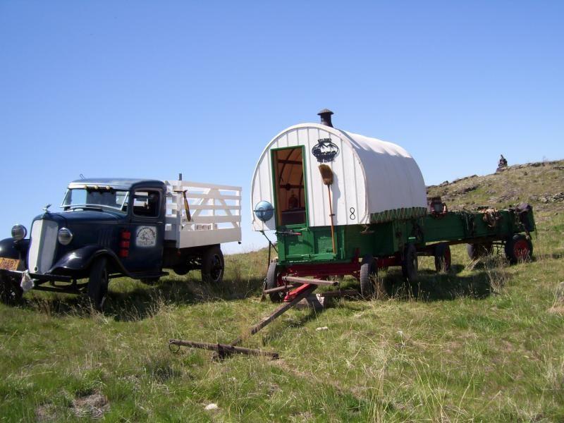 Original Basque Sheep Wagon Photos Wagon Sheep Photo