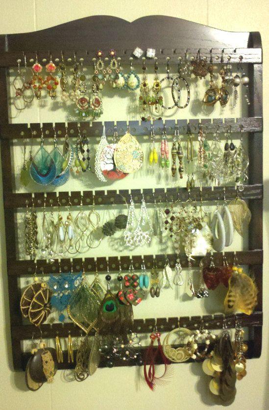 EARRING HOLDER 90-180 Pair Earring by JewelryHoldersForYou on Etsy