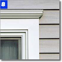 vinyl siding and window trim - Google Search | Garage Door Ideas ...