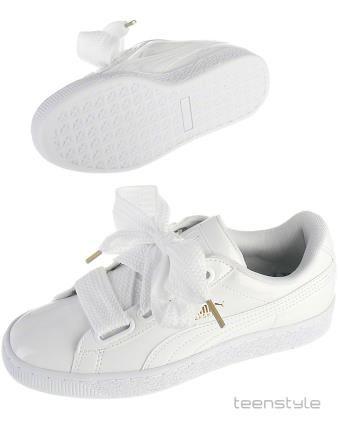 632ceff2 sneakers, hvid lak, Basket Heart | Children | Sko sneakers, Puma ...