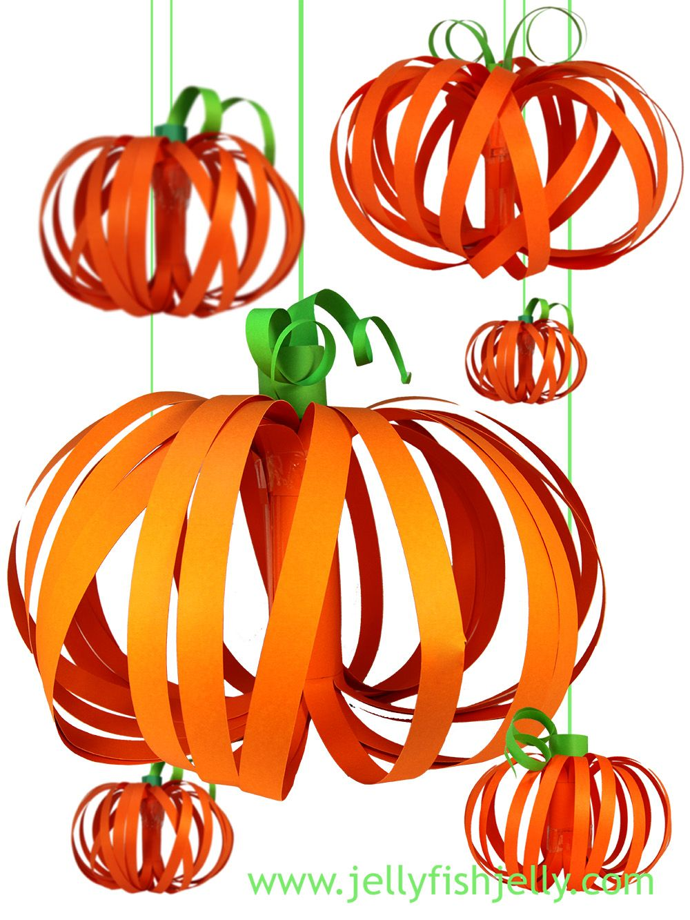 Showing Off - my picks Paper pumpkin, Craft and Holidays - Halloween Decorations For Kids