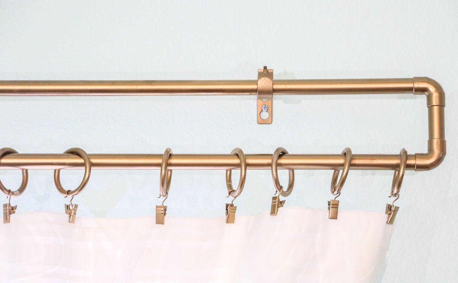 7 Simple And Inexpensive Ways To Update Your Family Room Gold Curtain Rods Curtain Rods Gold Curtains