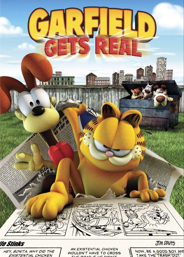 Garfield Mochilas Escolares Infantil Cartazes De Cinema