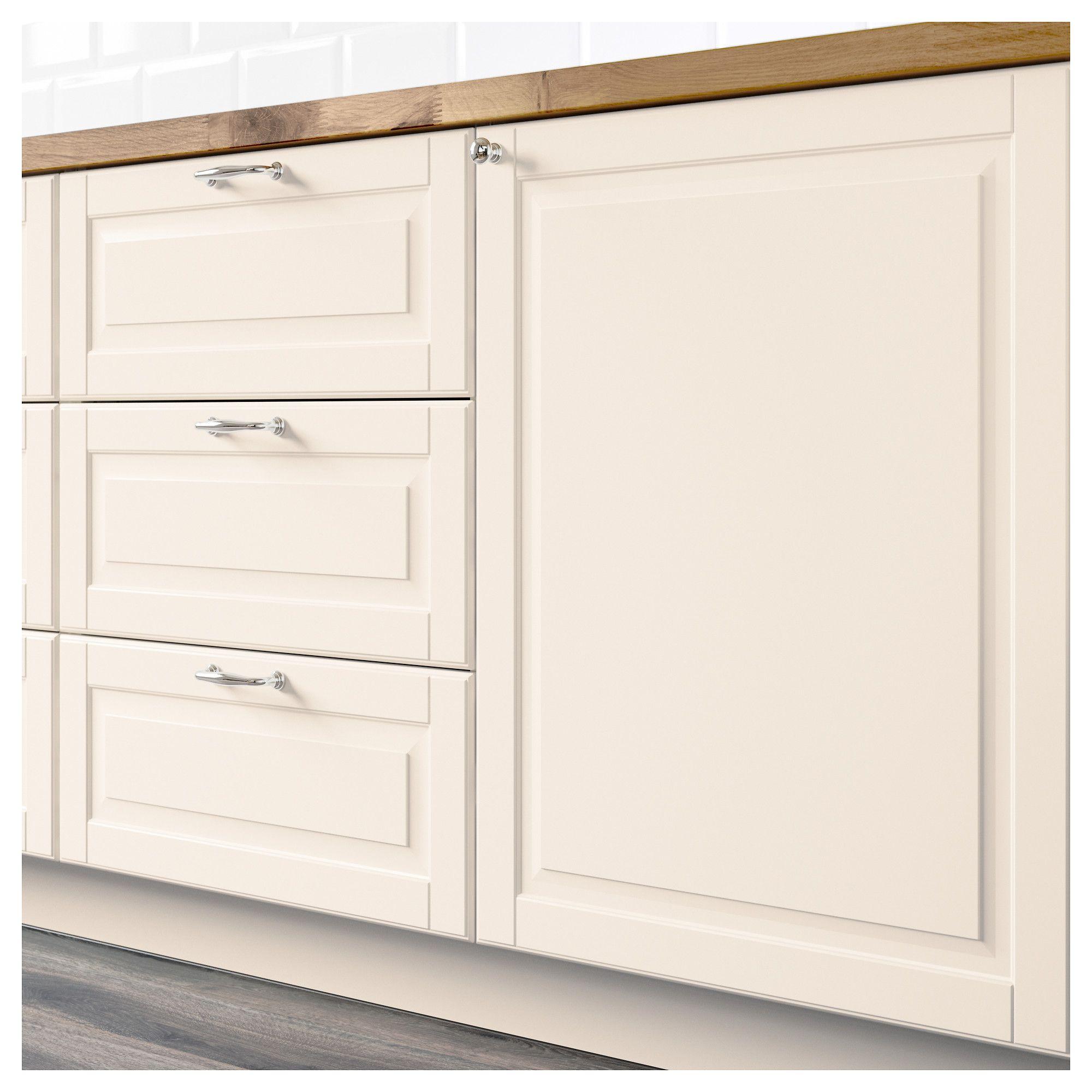IKEA   BODBYN 2 P Door/corner Base Cabinet Set Off White