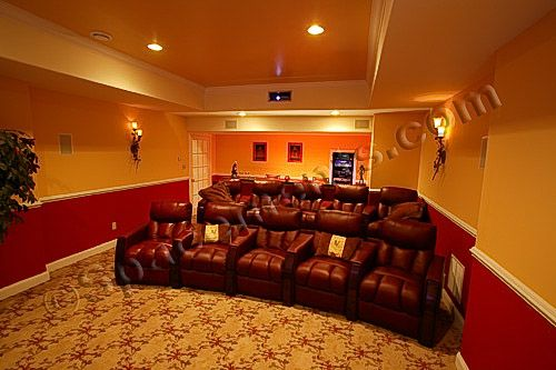 Basement Home Theatre Ideas Property finished basement design and remodeling projectsspacements