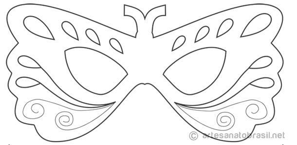 10 Mascaras De Carnaval Para Colorir Pintar E Brincar Baixe