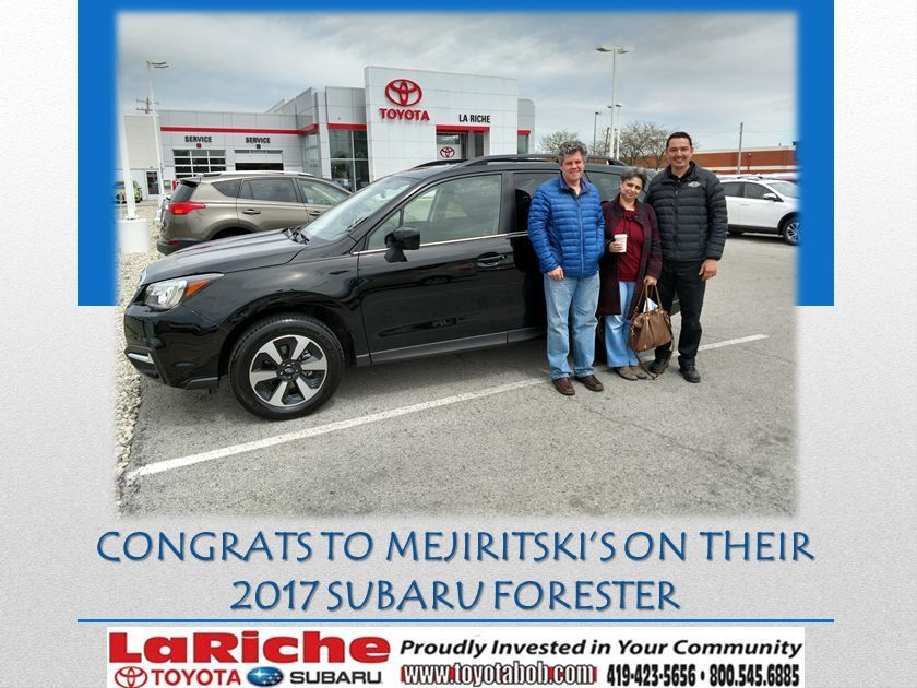 Thanks to the help of Sales Manager Davron, and Vehicle