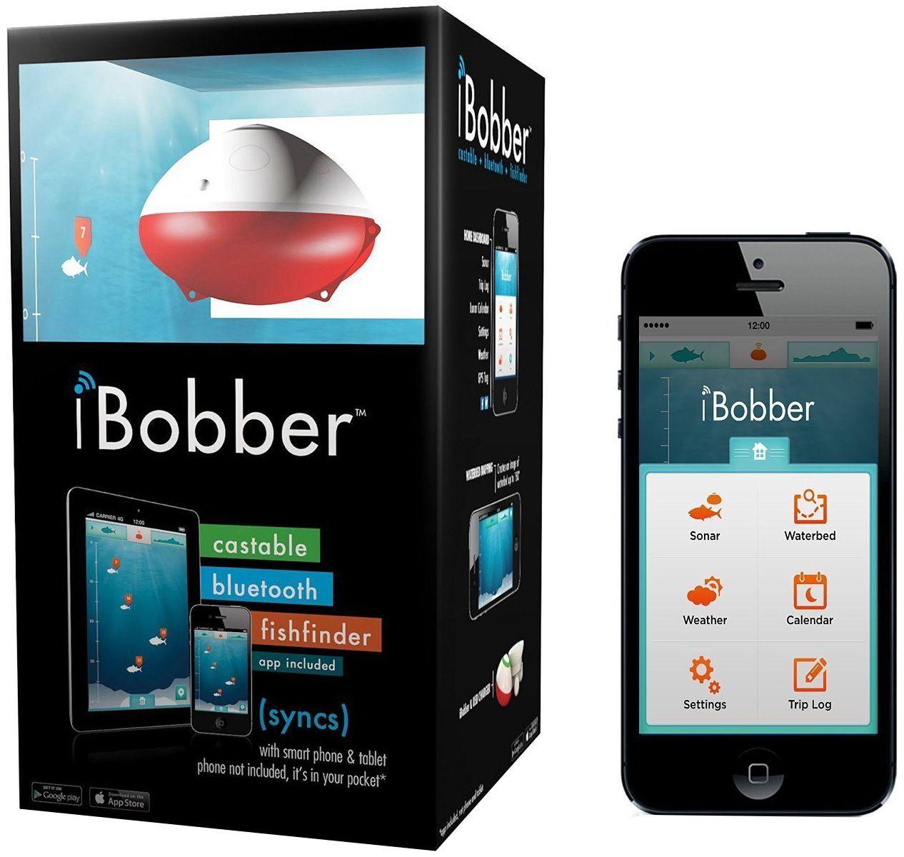 ReelSonar iBobber Bluetooth Smart Castable Fishfinder