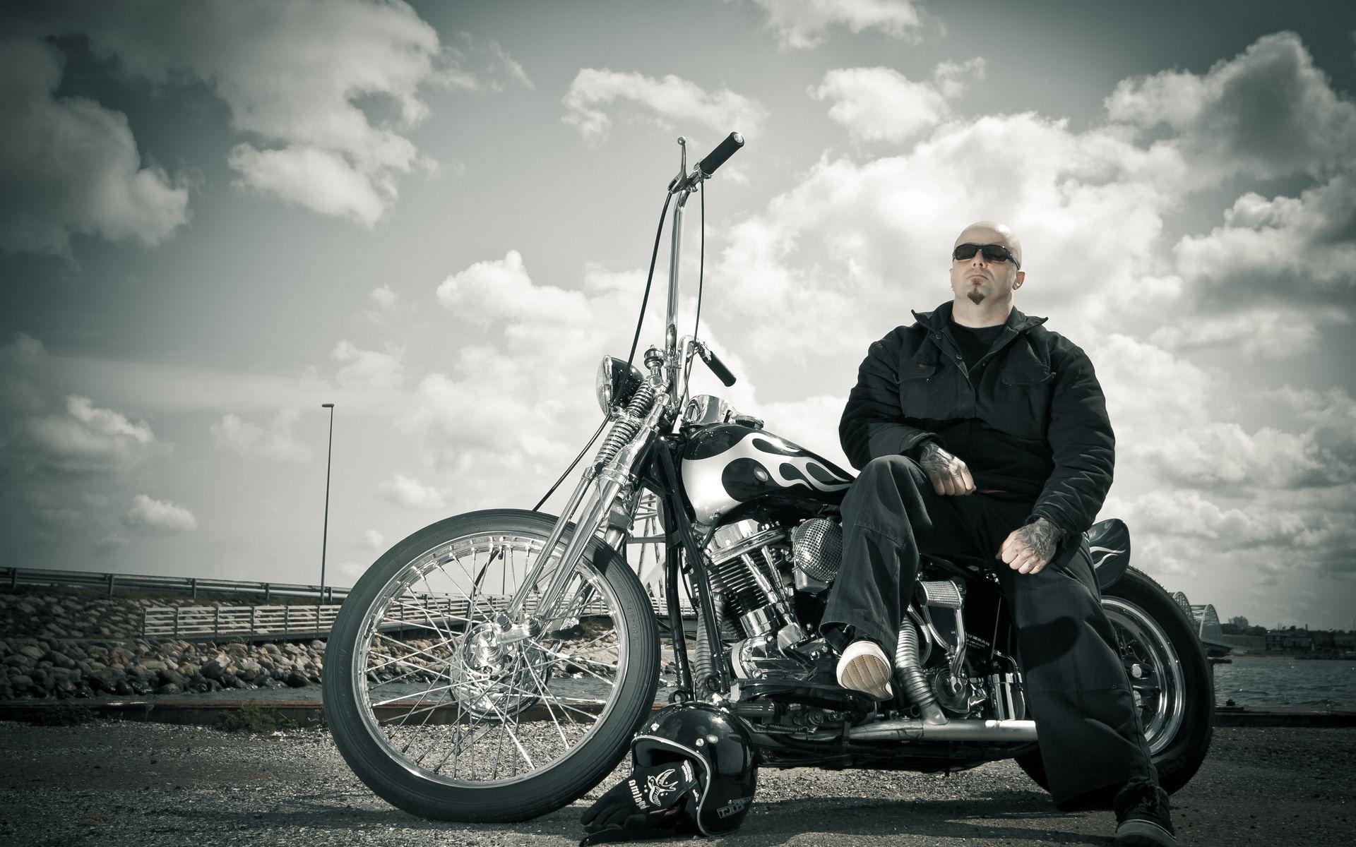 Harley Davidson Motorcycle HD Desktop Wallpaper