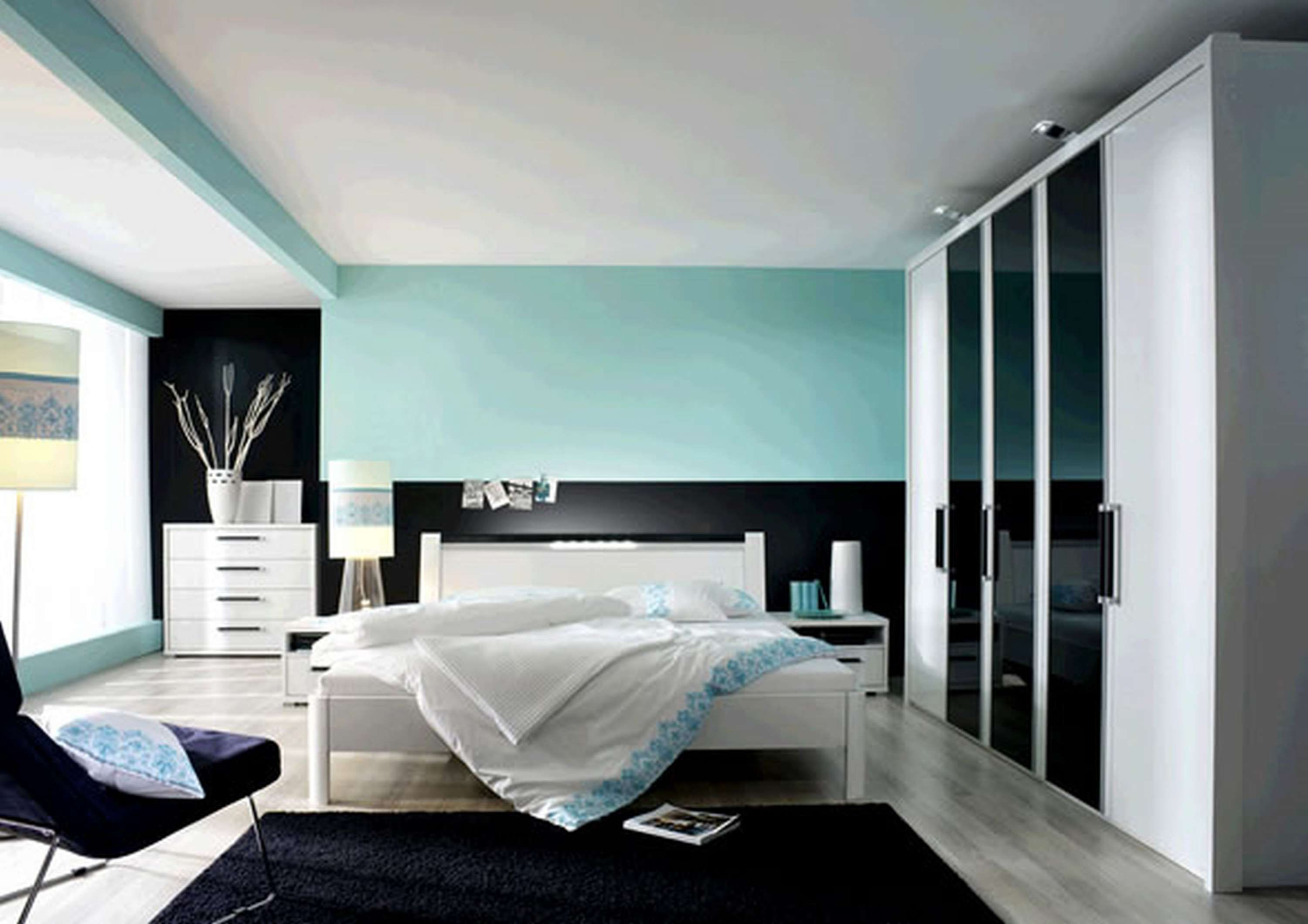 8 Beautiful Wall Color With Black And White Furniture Gallery Amazing Bedroom Designs Modern Bedroom Colors Bedroom Color Schemes
