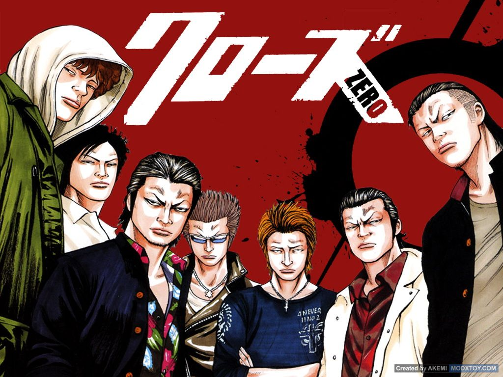 Crows Zero Art Wallpaper