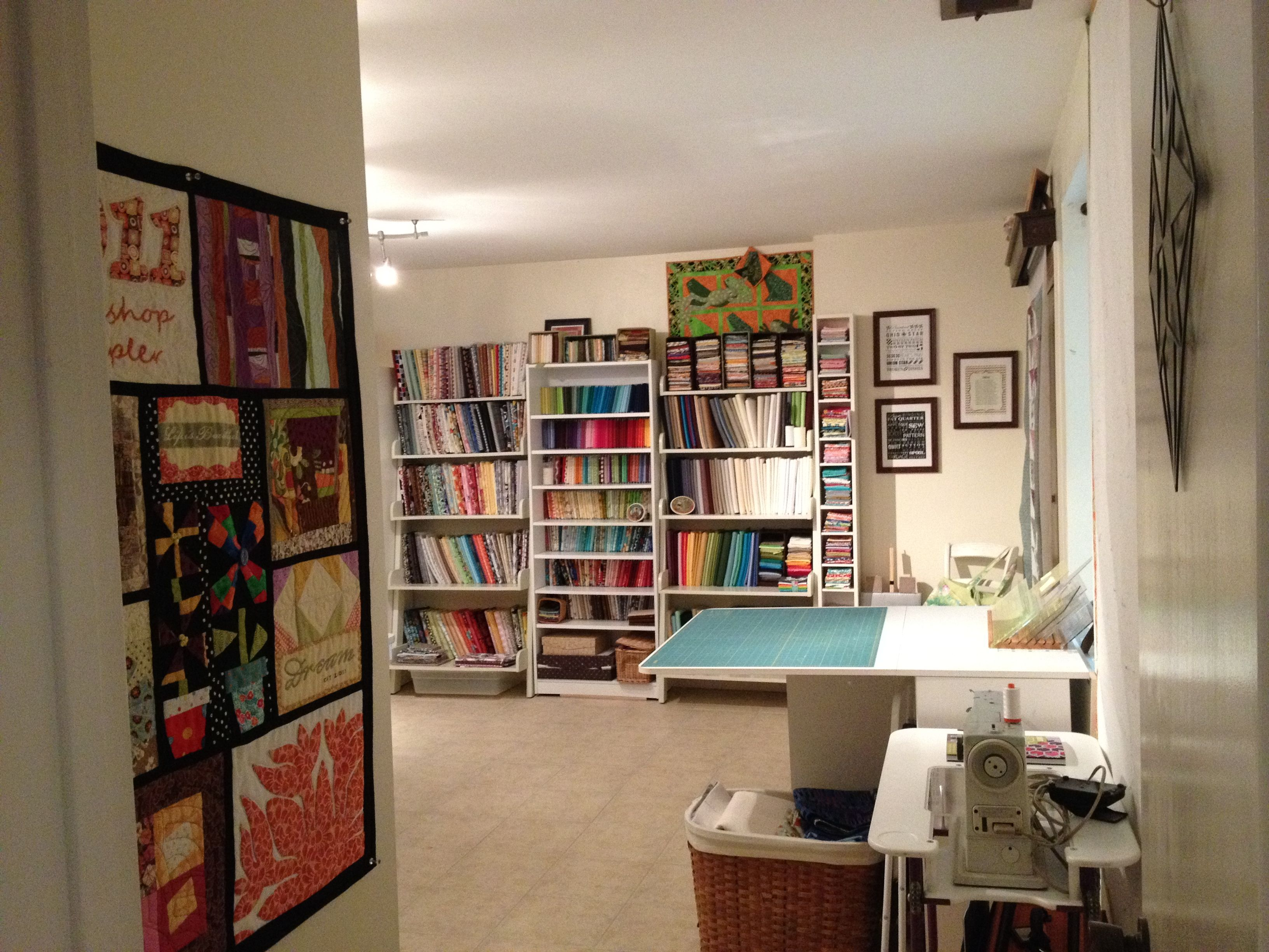 home quilting studios - Google Search | craft/ play room | Pinterest ...