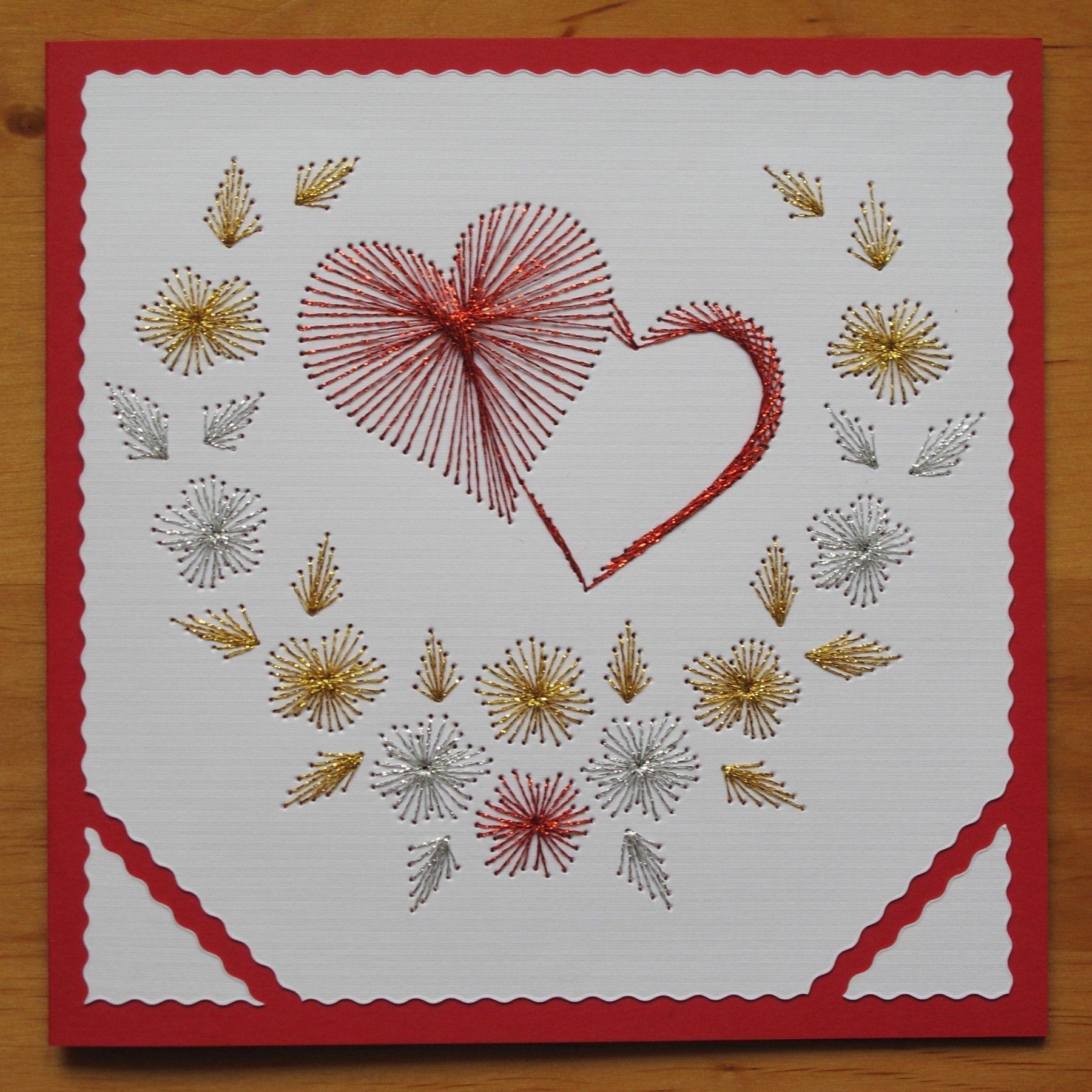 Свежие, вышивка по бумаге открытки
