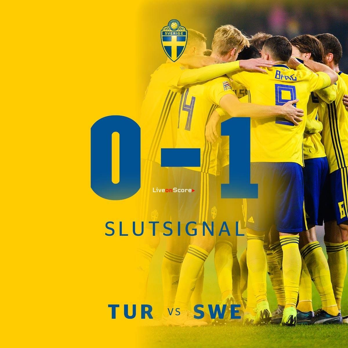 Turkey 0 1 Sweden Full Highlight Video Uefa Nations League 2018 2019 Sweden Football League Full Highlights