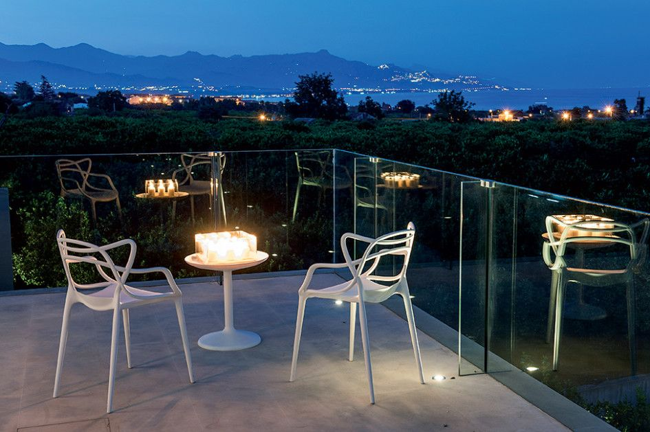 Architecture, Inspiring Zash Country Boutique Hotel In Sicily Featuring Exterior Design By Italian Architect Antonio Iraci With Terrace Decoration Plus Modern Chair: Chic Eclectic Home Decor with Original Design and Modern Furniture