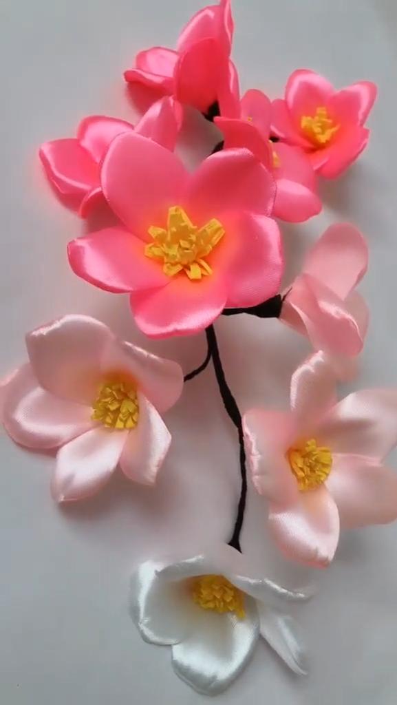 Diy origami flower making video tutorial