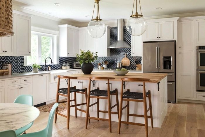 ▷ 1001 + ideas de decoración de cocina americana | cocina americana
